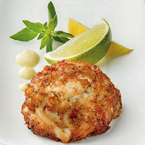 (6 Maryland Style Lump Crab Cakes, 3 oz each)