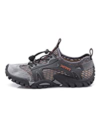 EMMARR Men's Amphibious Athletic Hiking Shoes Swimming Water Shoes Sport Lightweight Walking Shoes