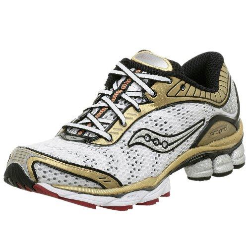 Saucony Mens Progrid Paramount Running Shoe White Gold 11 M