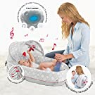 lulyboo Baby Travel Bed 3-in-1 w/ Lights, Music, Vibration-Converts to Backpack