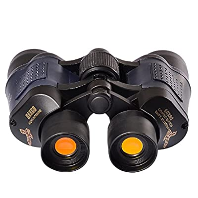 DAXGD Military Optical Binoculars 5000M High Resolution Telescope 8x35 Zoom Rapid Focusing Binoculars with Strap and Bag for Hunting Camping Surveillance Sporting Events Traveling