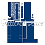Tattered Lace Tall Stepper Card Die Set, 464695