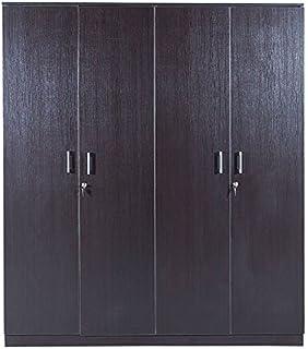 Hometown Prime 4-Door Wardrobe (Matte Finish Wenge) & Royal Oak Geneva 3-Door Wardrobe (Brown): Amazon.in: Home \u0026 Kitchen