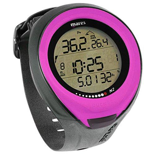 Mares Puck Pro Wrist Dive Computer (Pink)