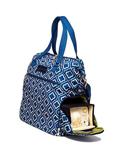 eb6eacee2651 Amazon.com   Sarah Wells Lizzy Breast Pump Bag (Navy)   Baby
