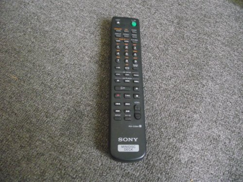 SONY RM-D29M Mini Disc Deck Remote MDS-JE530 MDS-JE330 MDS-M100 MDS-S40 MDS-S41