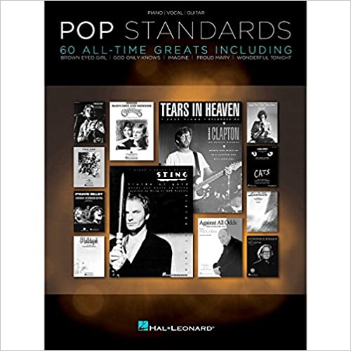 Kirja lataa ilmaisen iPodin Hal Leonard Pop Standards 60 All Time Greats for Piano/Vocal/Guitar (PVG) DJVU