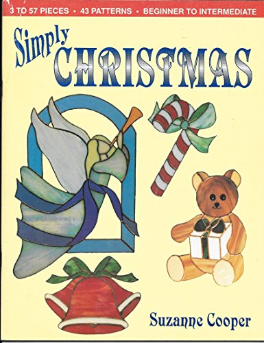Simply Christmas Beginner to Intermediate 43 Patterns Stained Glass / Cut Glass