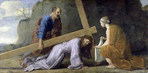 Jesus Carrying His Cross by Eustache Le Sueur 19