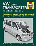VW T5 Transporter (July 03-14) Haynes Repair Manual (Haynes Manuals)