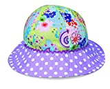 wallaroo Children's Platypus Sun Hat - UPF 50+ - Crushable, Purple Dots