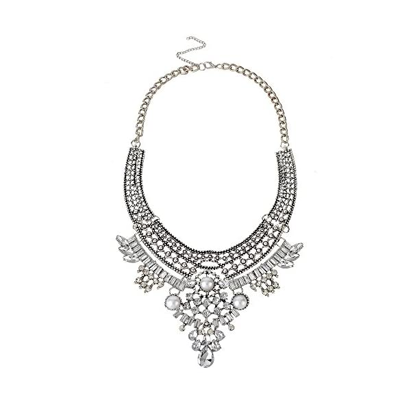 truecharms Fashion Jewelry Set Statement Necklace And Earrings For Women 5