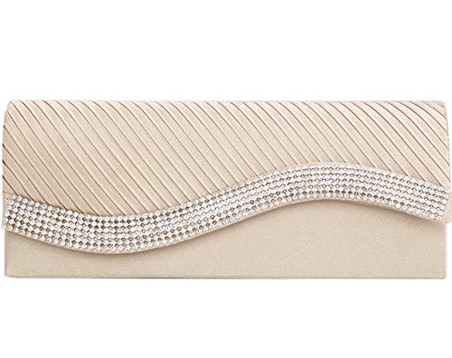 jubileens-womens-pleated-stain-evening-handbag-flap-wavy-crystal-clutch-party-bag-champagne