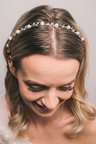 SWEETV Stunning Headband Rhinestone Wedding