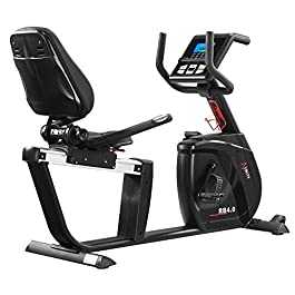 DKN RB-4i Recumbent Exercise Bike – Black