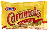 Kraft Caramels, 11-Ounce Bags (Pack of 12)