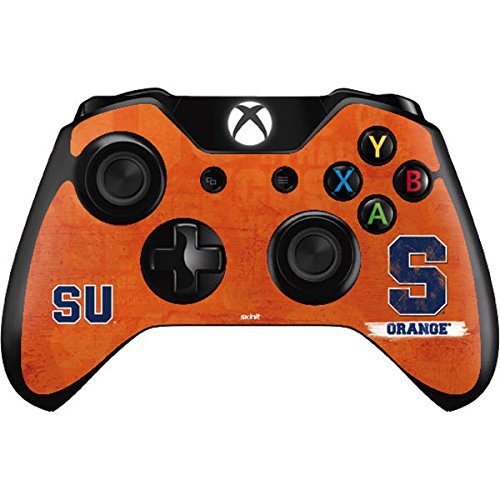 Syracuse University Xbox One Controller Skin - Syracuse Distressed Vinyl Decal Skin For Your Xbox One Controller by Skinit