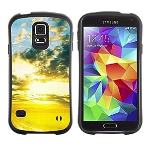 Pulsar iFace Series Tpu silicona Carcasa Funda Case para SAMSUNG Galaxy S5 V / i9600 / SM-G900F / SM-G900M / SM-G900A / SM-G900T / SM-G900W8 , Nature Beautiful Forrest Green 72
