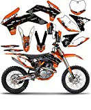 Team Racing Graphics kit for 2005-2006 KTM SX/EXC, SCATTER