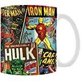 Marvel Boxed Mug Retro Covers
