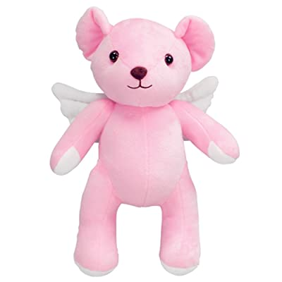 Mikucos Card Captor Sakura KINOMOTO SAKURA Plush Doll Toy Pink Bear Gift: Toys & Games