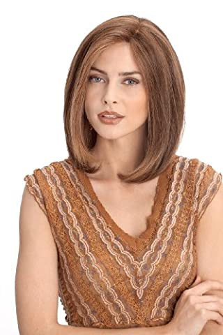 002 Platinum Lace Front Hand-Tied Human Hair Wig by Louis Ferre - Wig Louis Ferre Mono Top