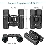 Skygenius 8x21 Small Compact Lightweight Binoculars For Concert Theater Opera .Mini Pocket Folding Binoculars w/ Fully Coated Lens For Travel Hiking Bird Watching Adults Kids(0.38lb)