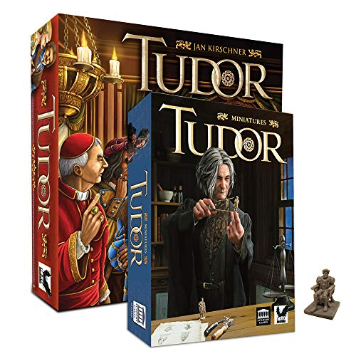 Tudor Boardgame + Miniatures + Henry VIII Miniature - Intrigue Bundle (Intrigue Game)