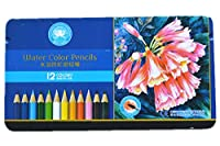 Heartybay Watercolor Pencils Colored Pencils 12 Assorted Colors