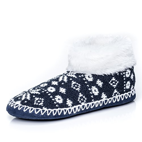 Mount Ankle Ivory Boot Indoor Pole Noble Slippers North Navy Womens dqxnXO