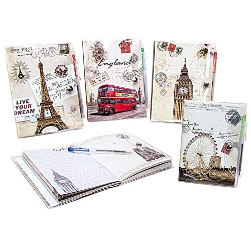 Notizbuch mit Boli Esilo Esilo Esilo Vintage (25er-Pack.) B07DHMZ746 | Gute Qualität  19b7dc