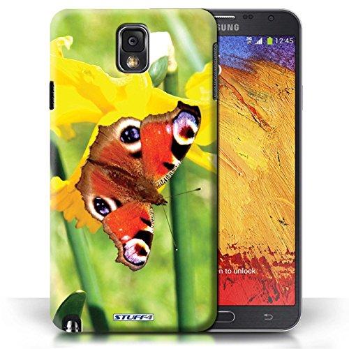 Etui / Coque pour Samsung Galaxy Note 3 / Papillon conception / Collection de floral Fleurs