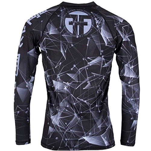 Tatami Essentials Fractal Long Sleeve BJJ Rashguard - Small