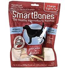 SmartBones Chicken Dog Chew, Large, 3-Count