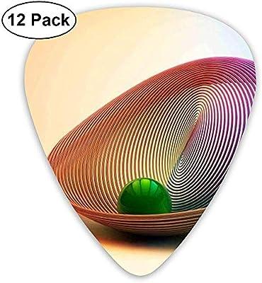 Green Ball On Art Design Púas de guitarra 12 púas de ukelele ...