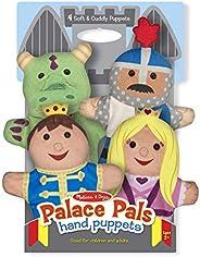 Melissa & Doug Palace Pals Hand Puppets - The Original (Set of 4 - Prince, Princess, Knight, and Dragon -
