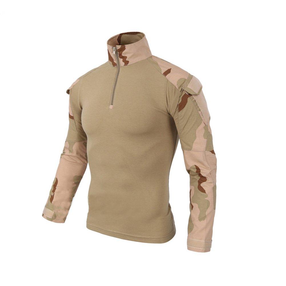 LANBAOSI - Camisa de Combate Militar Hombre Airsoft Shirt Traje ...