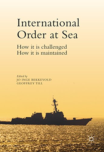 International Order at Sea: How it is challenged. How it is maintained.