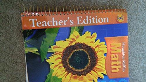 Houghton Mifflin Math, Grade 5, Vol. 2, Teacher's Edition
