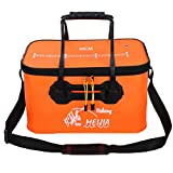 George Jimmy Portable Travel Fishing Folding Bucket Multifunctional Collapsible Bucket-02