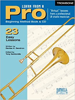 Learn From A Pro -Trombone & Euphonium with CD