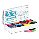 Mr. Sketch - Scented Watercolor Markers, 12 Colors, 192/Set 1905311 (DMi ST