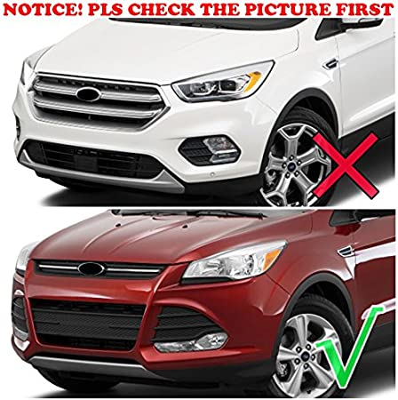 Fits for Ford Escape Kuga 2013-2016 Chrome Door Side Mirror Rain Snow Guard Visor Trim Bezel Shade Cover Garnish Frame
