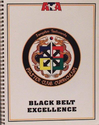 Songahm Taekwondo Master Club Curriculum Black Belt Excellence