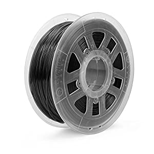Gizmo Dorks 3mm (2.85mm) ABS Filament 1kg/2.2lb for 3D Printers, Black by Gizmo Dorks