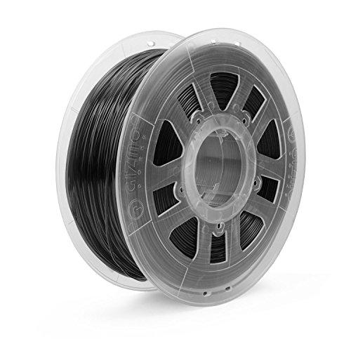 Gizmo Dorks 3mm (2.85mm) ABS Filament 1kg/2.2lb for 3D Printers, Black