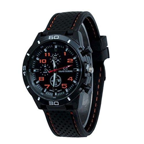(Creazy Quartz Watch Men Military Watches Sport Wristwatch Silicone Fashion Hours)