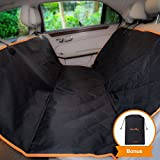 Cheap iBuddy Dog Seat Cover Hammock for Back Seat of Cars/SUV, Waterproof Dog Car Seat Covers
