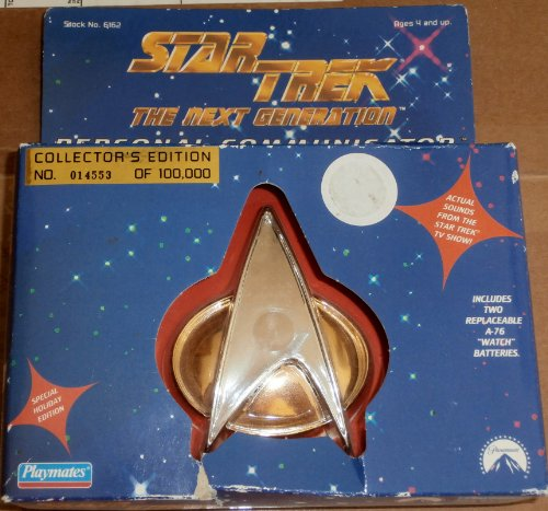 Tng Playmates (Star Trek The Next Generation Personal Communicator Holiday Ornament Collector's Edition)