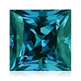 1.86-2.02 Cts of 7 mm AAA Princess Russian Lab Created Alexandrite ( 1 pc ) Loose Gemstone